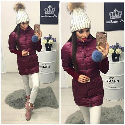Женская удлиненная куртка, фото 2