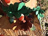 Агатовое колье, Колье ручной работы с желудями, Осенняя коллекция украшений MGS, фото 7