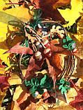 Агатовое колье, Колье ручной работы с желудями, Осенняя коллекция украшений MGS, фото 10