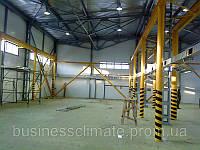 Вентиляция производственных помещений. Киевская область