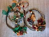 Агатовое колье, Колье ручной работы с желудями, Осенняя коллекция украшений MGS, фото 3