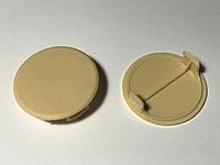 Заглушка отверстия Стяжки Д-40 мм Бежевая