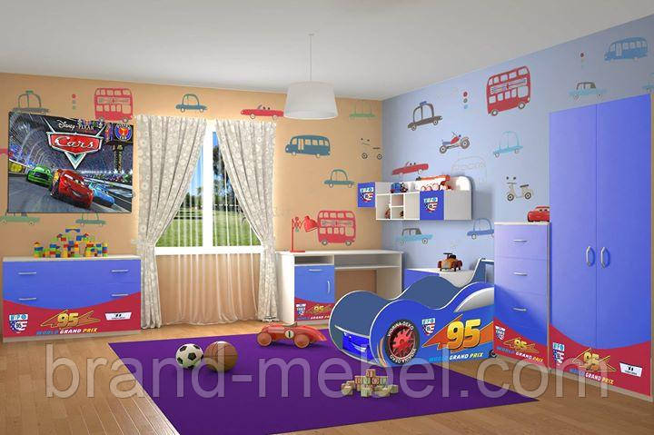 Дитяча кімната Тачки