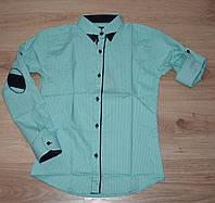"""Рубашка для мальчика с длинным  рукавом 10-15  лет, """"Lisami"""" Турция"""