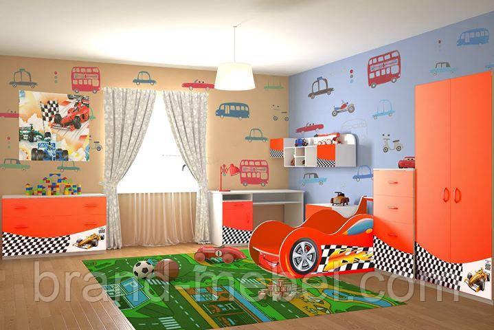 Детская комната Форсаж серии Форсаж