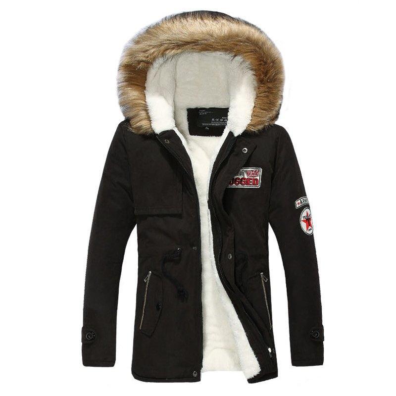 Мужская зимняя куртка размер 46 (3XL) AL7828-10