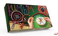 Набор для творчества KUMIHIMO, Danko Toys, КМХ-03 |в упаковке-12штук; 3 вида|