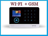 Беспроводная GSM + WiFi сигнализация  GSM103