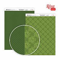 Бумага декоративная для скрапбукинга двухсторонняя А4 Магія троянд 7 ROSA Talent