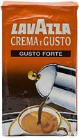Кофе молотый Lavazza Crema e Gusto Gusto Forte 250 гр Арабика 20 % Робуста 80 %