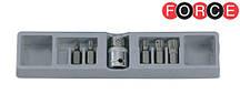 Набір біт Spline M-профіль 10 мм, M5-M12 (Force 4066)