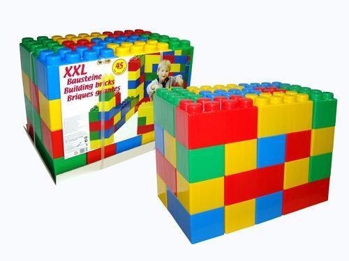 Будівельний Конструктор 45 блоків XXL Wader 37510