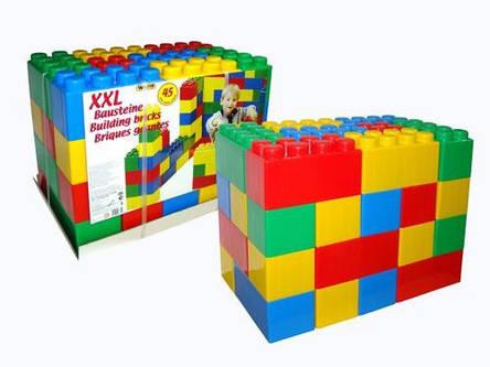 Будівельний Конструктор 45 блоків XXL Wader 37510, фото 2