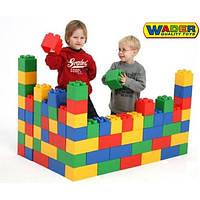 Конструктор большие блоки XXL 45 шт Wader 37510
