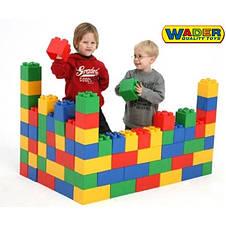 Конструктор строительный 45 блоков XXL Wader 37510, фото 2