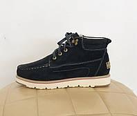 UGG Australia Beckham Black Угги ботинки мужские Бекхэм черные замшевые