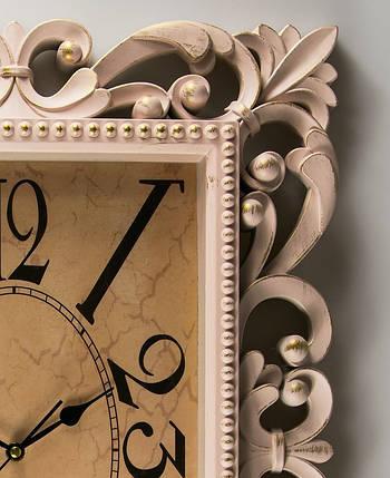 Часы прямоугольные 46*61 см 072A/cream, фото 2