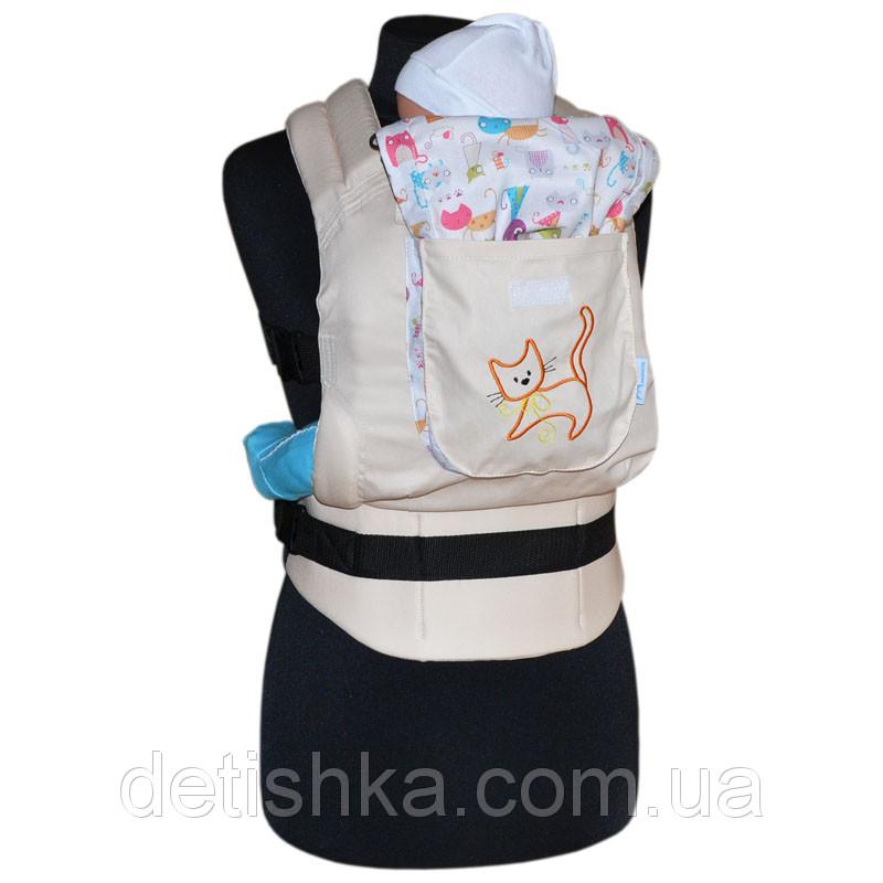 Эргономический рюкзак Котики