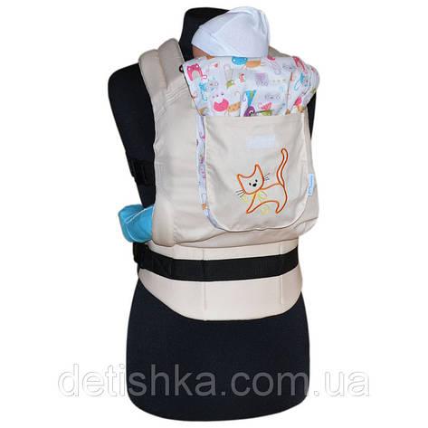 Эргономический рюкзак Котики, фото 2