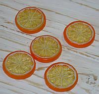 Дольки мандарин(апельсин) 1шт полупрозрачные