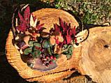 Агатовое колье, Колье ручной работы с рябиной, Осенняя коллекция украшений MGS, фото 6