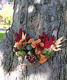 Агатовое колье, Колье ручной работы с рябиной, Осенняя коллекция украшений MGS, фото 7