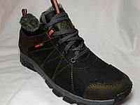Ботинки мужские кожаные зимние Columbia M 203 р 40-45