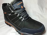 Ботинки мужские кожаные зимние Columbia 189 р 40-45