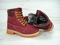 Ботинки Timberland с мехом,р.36-41