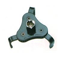 Съемник масляного фильтра 3-х лапый с плоскими захватами 63-102 мм