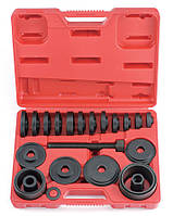 Набор для снятия и установки подшипников ступиц 24 пр.
