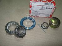 Подшипник ступицы колеса ( комплект) AUDI, SEAT, VW заднего (производитель Febi) 03674