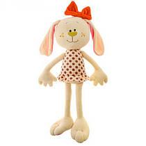 Мягкая игрушкаЗайчик Белла от Левеня К382В, 40см