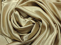 Ткань креп- сатин бежевый
