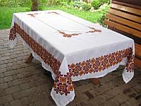 Скатерть ручной вышивки  Осенняя рапсодия (без салфеток)