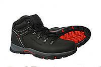 Мужские кожаные зимние ботинки Follamen Black, фото 1