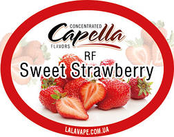 Ароматизатор Capella RF Sweet Strawberry (Сладкая клубника RF)