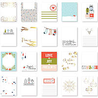 Карточки - December Days - Pinkfresh Studio - 3X4 - 20Pkg