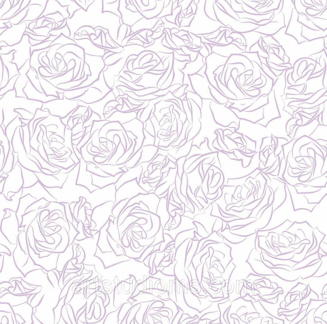 """Дизайнерский картон фактура скорлупа  """"Розы"""" 30х30см """"Рожеві мрії""""  ЕК"""