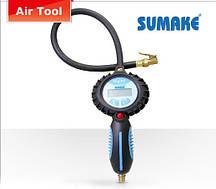 Пистолет для подкачки шин с цифровым манометром (Sumake DT-6600)