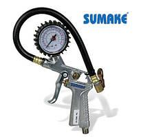 Пистолет для подкачки колес с манометром (Sumake SA-6600A)