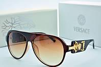 Солнцезащитные очки Versace коричневые