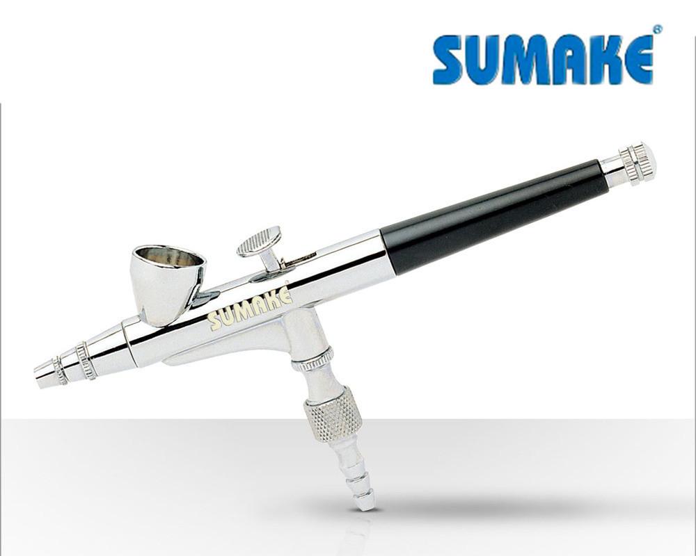 Аэрограф профессиональный сопло 0.2 мм (Sumake SB-1108A)