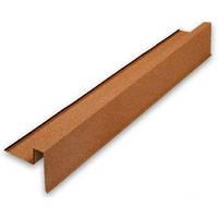 Торцевая планка правая Metrotile 1355*185 мм красная