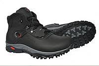 Зимние мужские  кожаные  ботинки Clubshoes Sportwear Company Black