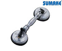 Присоска вакуумная двойная шарнирная для стекла 70 кг (Sumake SC-9602A)