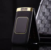 Мобильный телефон раскладушка Tkexun m3 двухсимочная раскладушка Vertu