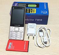 Кнопочный телефон H-Mobile T810 на ТРИ Sim-карты батарея 3000mAh - бюджетный китайский телефон недорого дешево