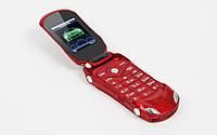 Телефон машинка раскладушка Ferrari F15 кнопочный бюджетный китайский телефон недорого дешево