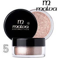 Malva - Пигменты M-491 тени для век Dramatic Chrome Eyeshadow Тон 05 shimmer peach шиммер